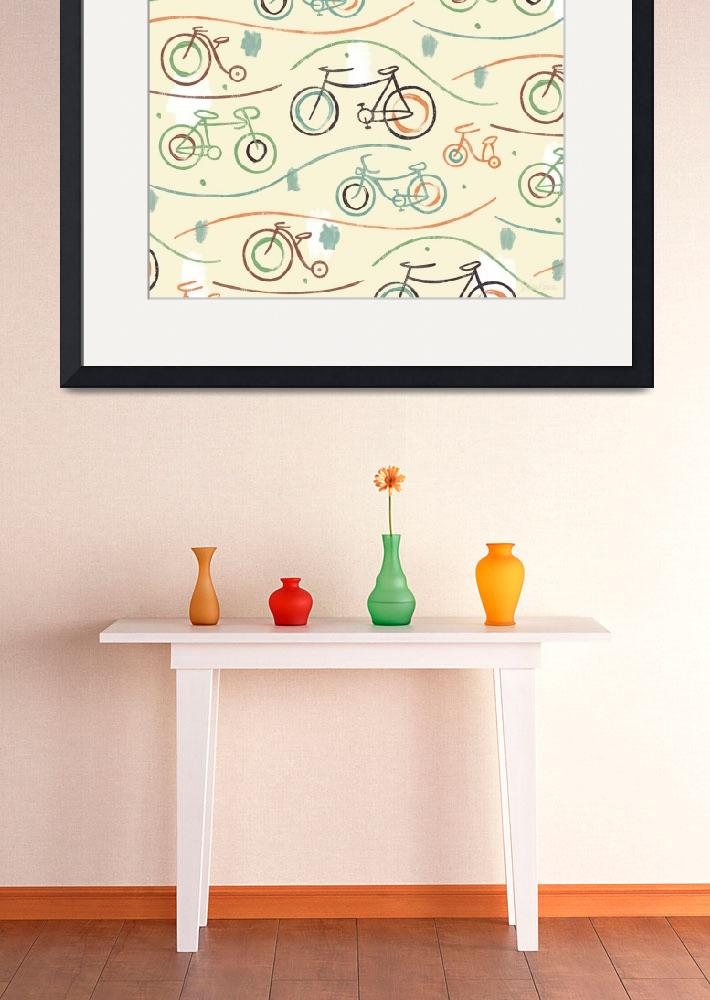 """""""Cycling Crew: Bicycles Design""""  (2010) by SeanKaneStudio"""