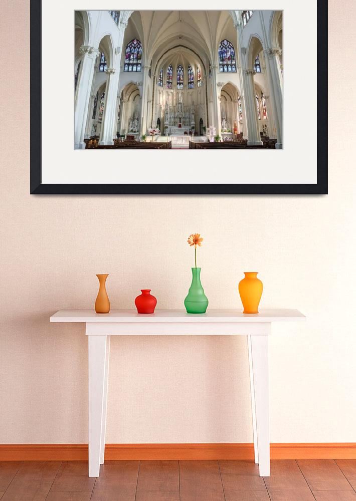 """""""Cathedral Basilica of the Immaculate Conception II&quot  by NewTake"""