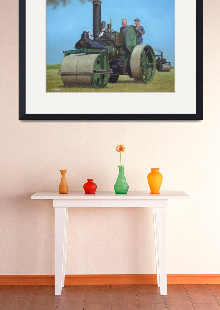 """steam traction engine&quot  (2010) by martindavey"