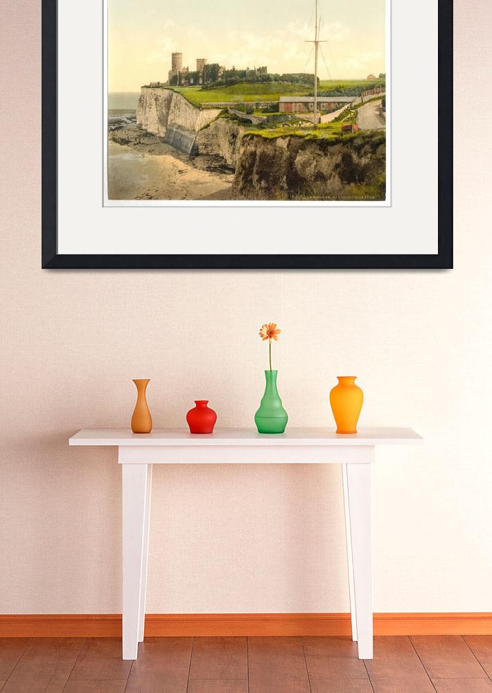 """Vintage Photo-Print of Kingsgate Castle (1900)&quot  by Alleycatshirts"