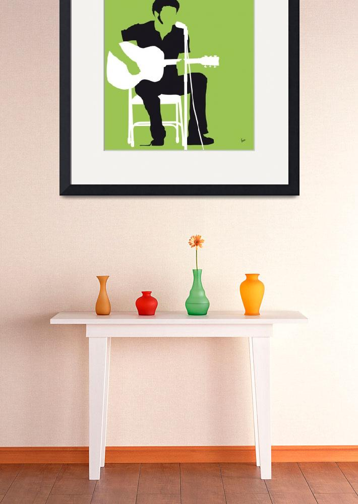 """""""No156 MY BILL WITHERS Minimal Music poster&quot  by Chungkong"""