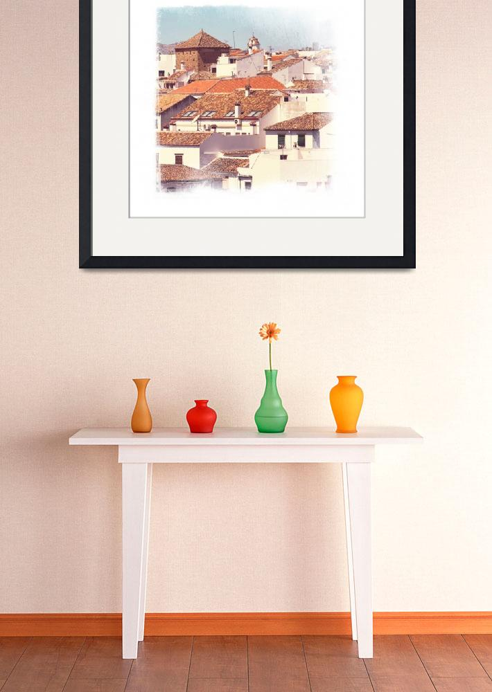 """""""Roofs Of Ronda. Mini-ideas For Interior Design&quot  (2014) by JennyRainbow"""