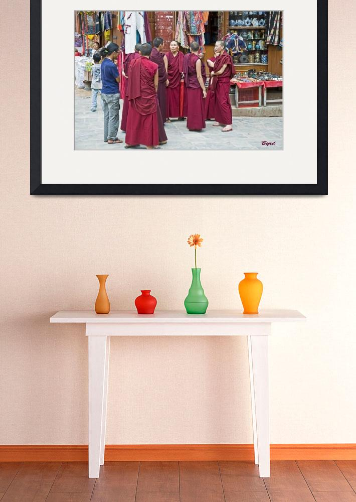 """""""A gathering of Tibetan monks&quot  (2009) by ChristopherByrd"""
