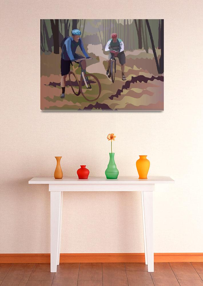 """""""Brothers and Bikes&quot  (2015) by jimtignor"""