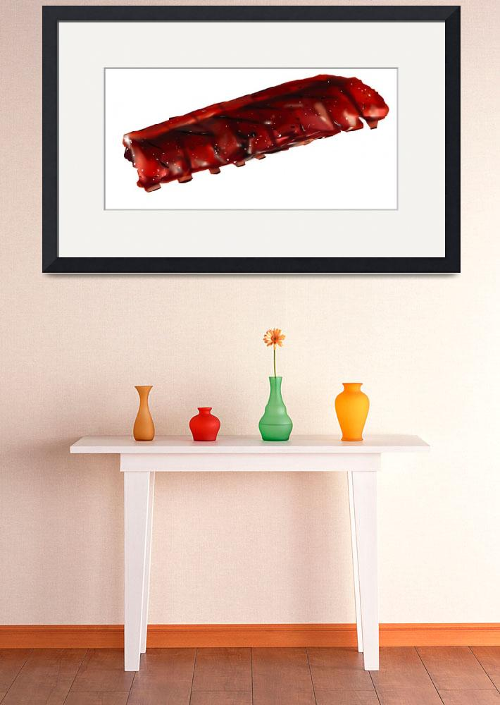 """""""BBQ Ribs""""  (2008) by LAArtworks"""
