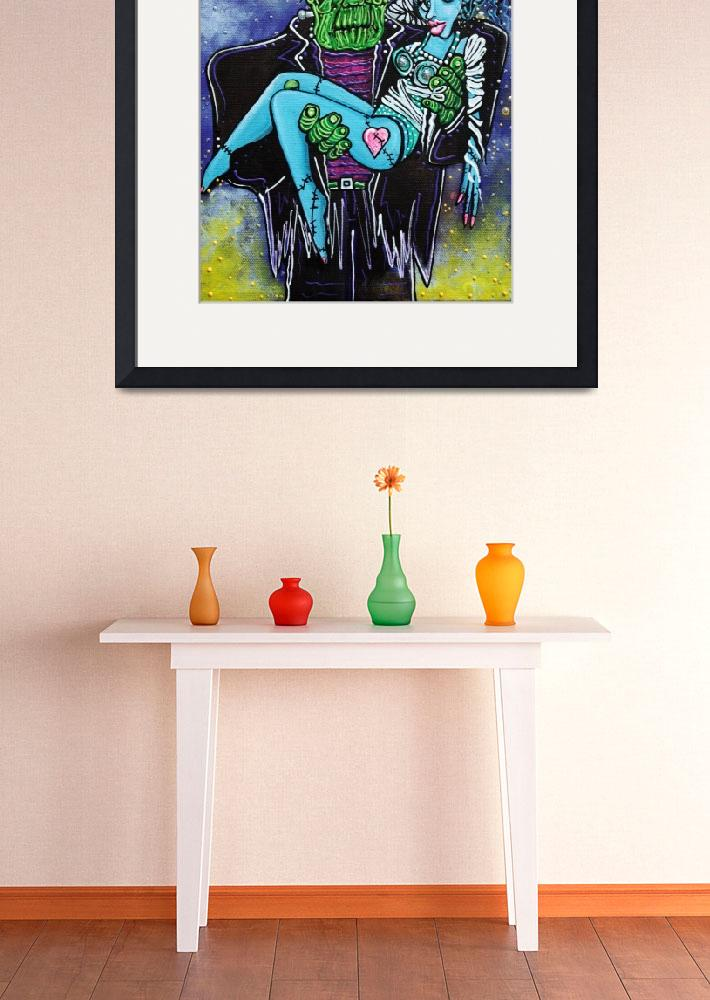 """""""My Monster My Bride&quot  (2014) by ArtPrints"""