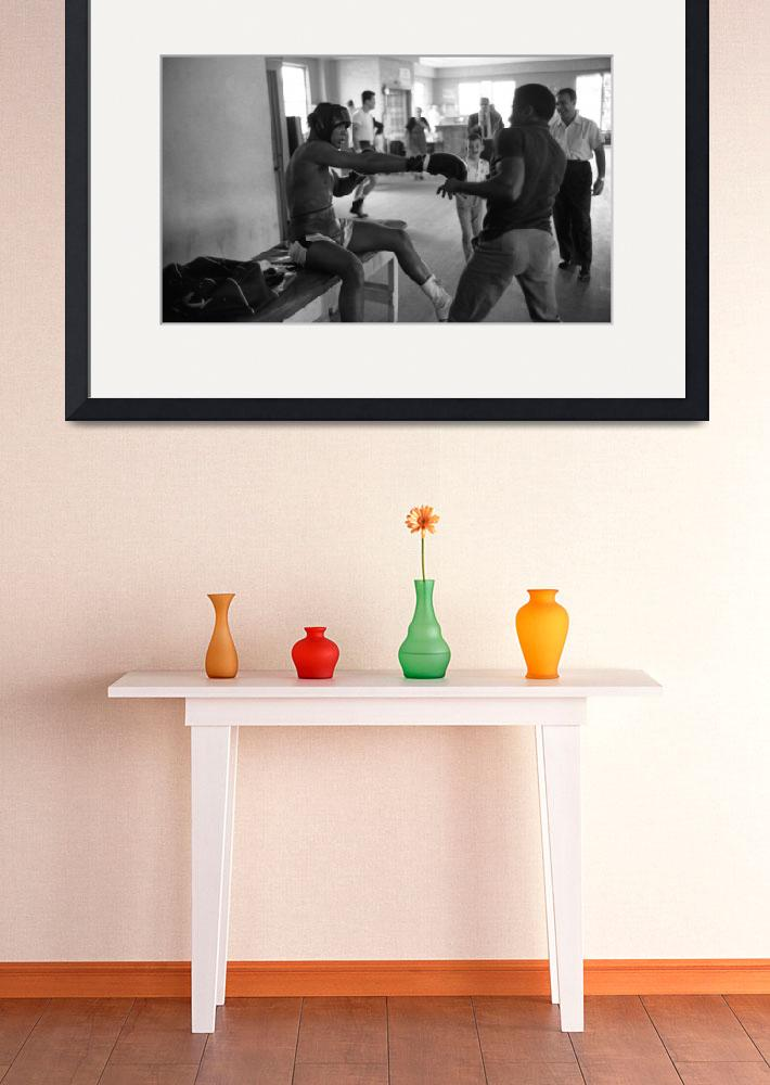 """""""Muhammad Ali playing around&quot  by RetroImagesArchive"""