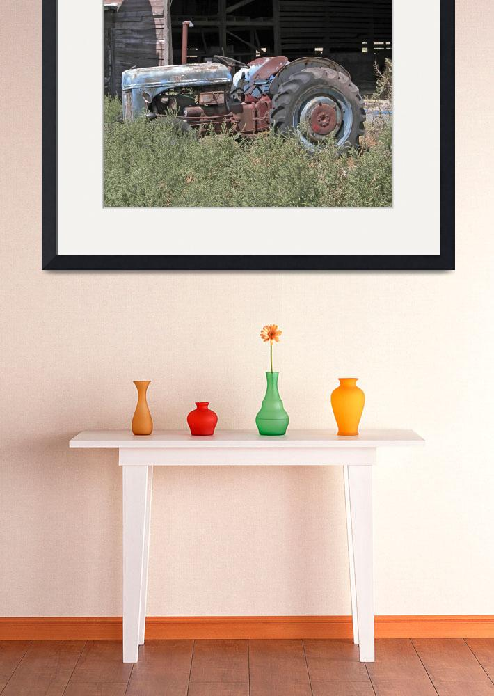 """""""Tractor&quot  (2008) by ClotheslineArt"""