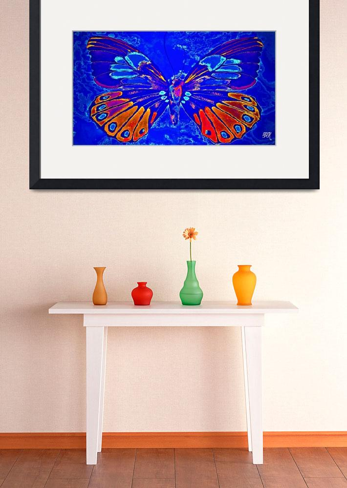 """""""Abstract Butterfly Art 13&quot  (2016) by positivebusinessdesigns"""