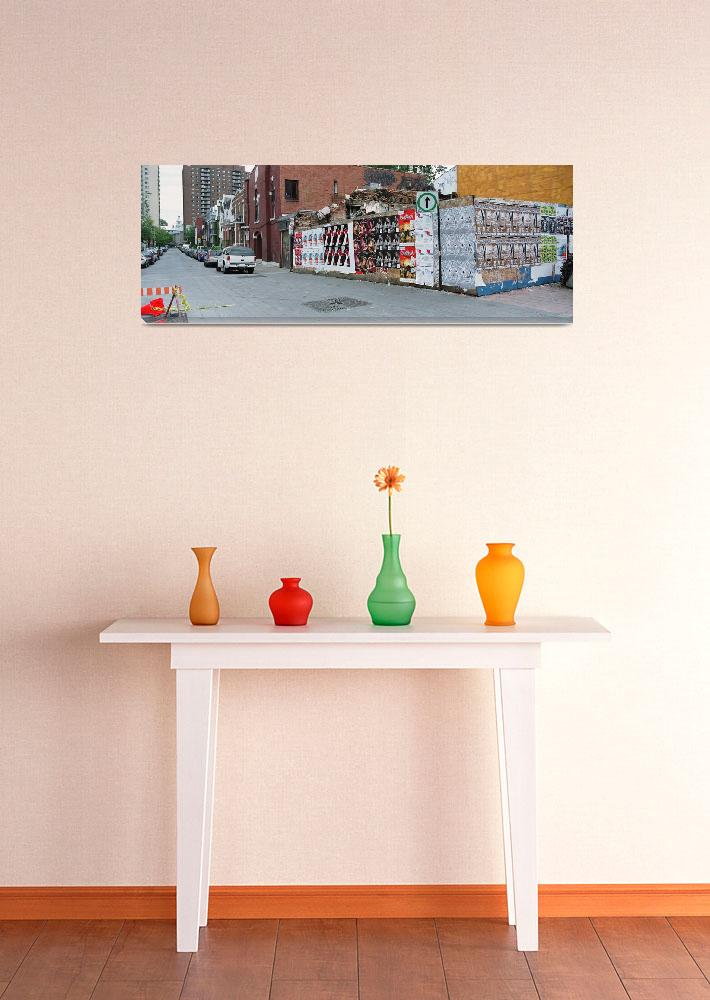 """""""Posters on a wall""""  by Panoramic_Images"""