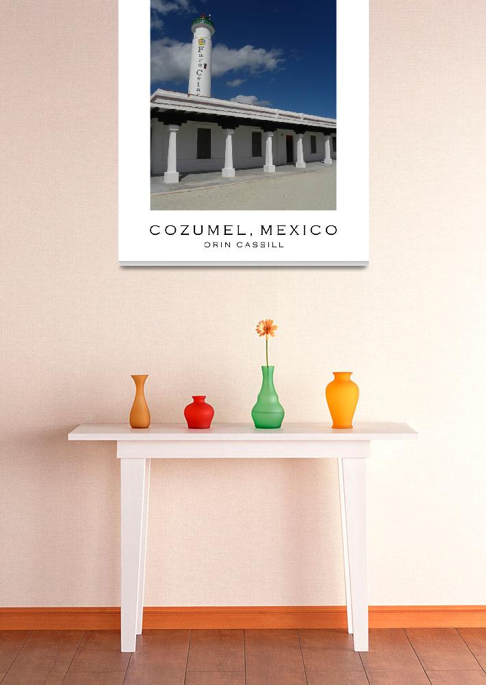 """""""Cozumel Poster #3&quot  (2010) by orincassill"""