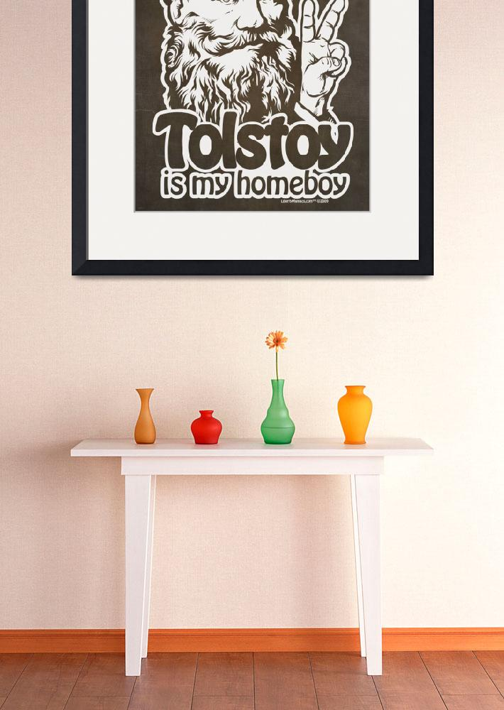 """""""Tolstoy Is My Homeboy&quot  (2009) by libertymaniacs"""