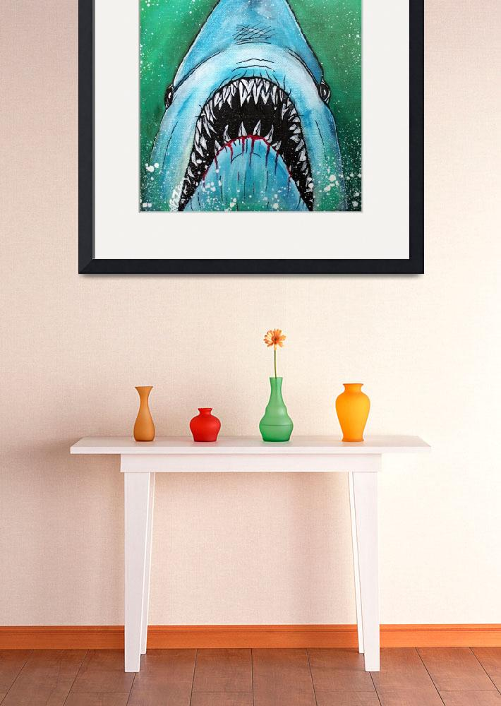 """""""Spawn of Jaws&quot  (2014) by ArtPrints"""