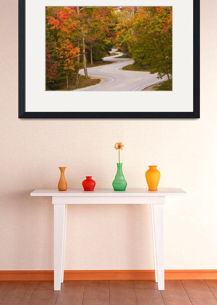 """""""Winding Road_Orig&quot  (2009) by BeeCreativeDesigns"""
