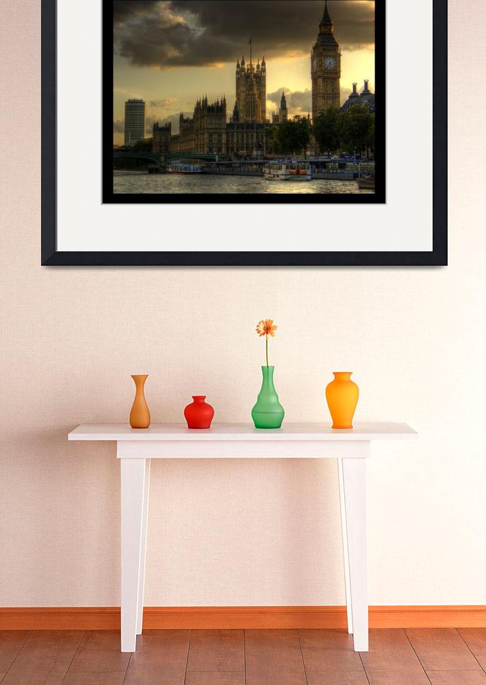 """""""River view - London""""  by rozter"""