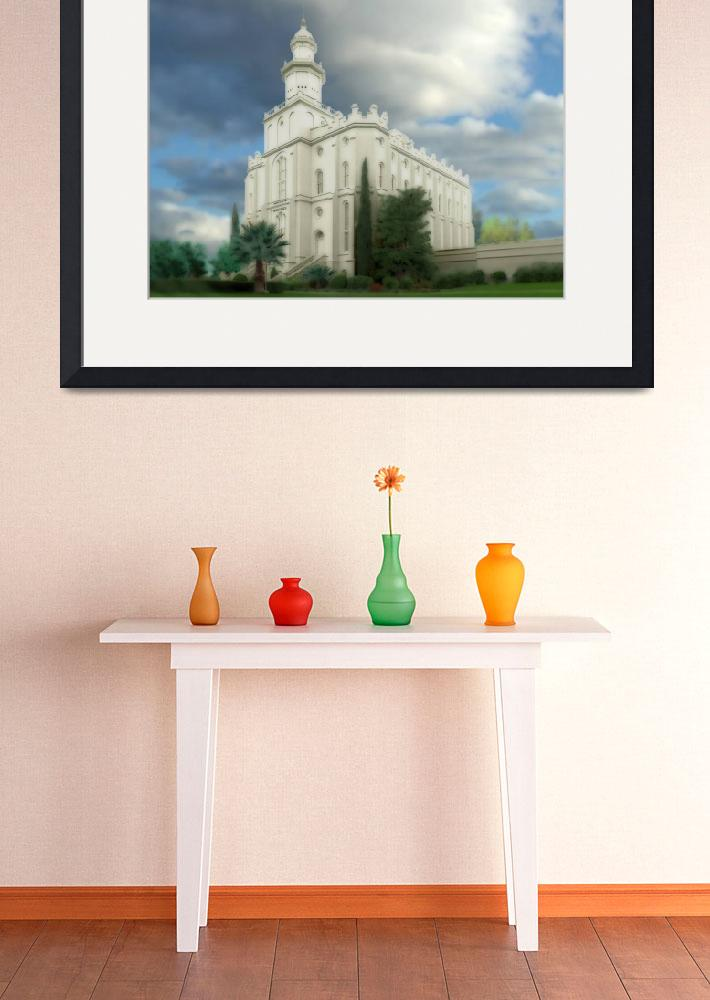 """""""St George Temple""""  by TerrySpringer"""