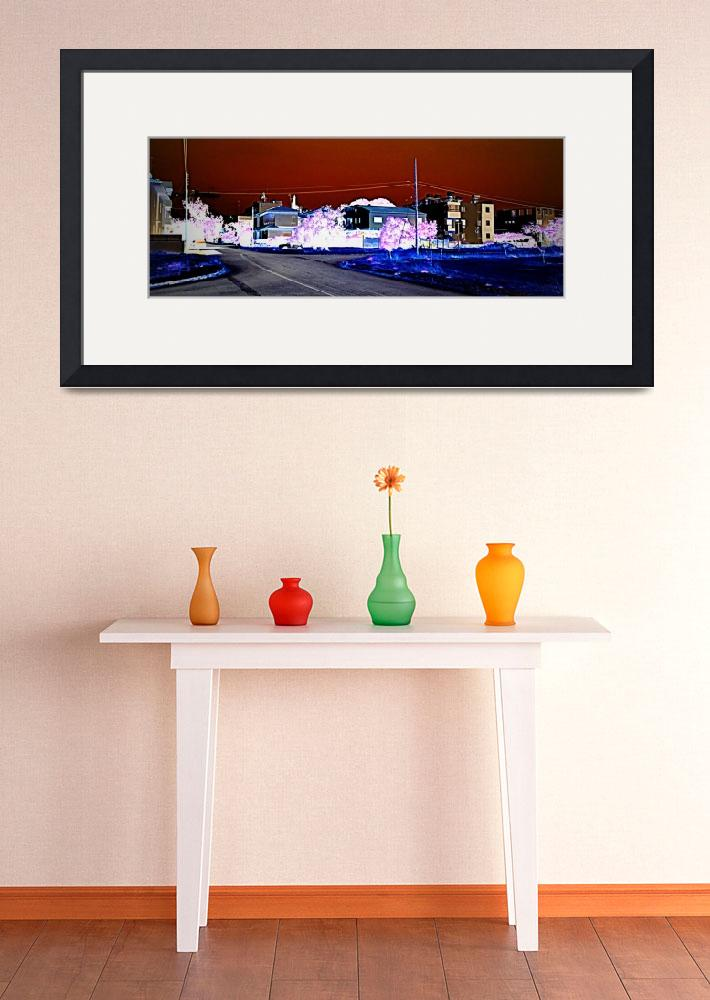 """Inverted Street in Nicosia""  by Artsart"