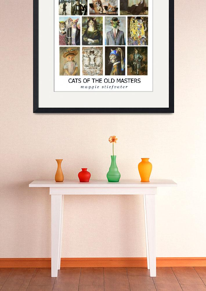 """""""Cats of the Old Masters&quot  by Maggie_Stiefvater"""
