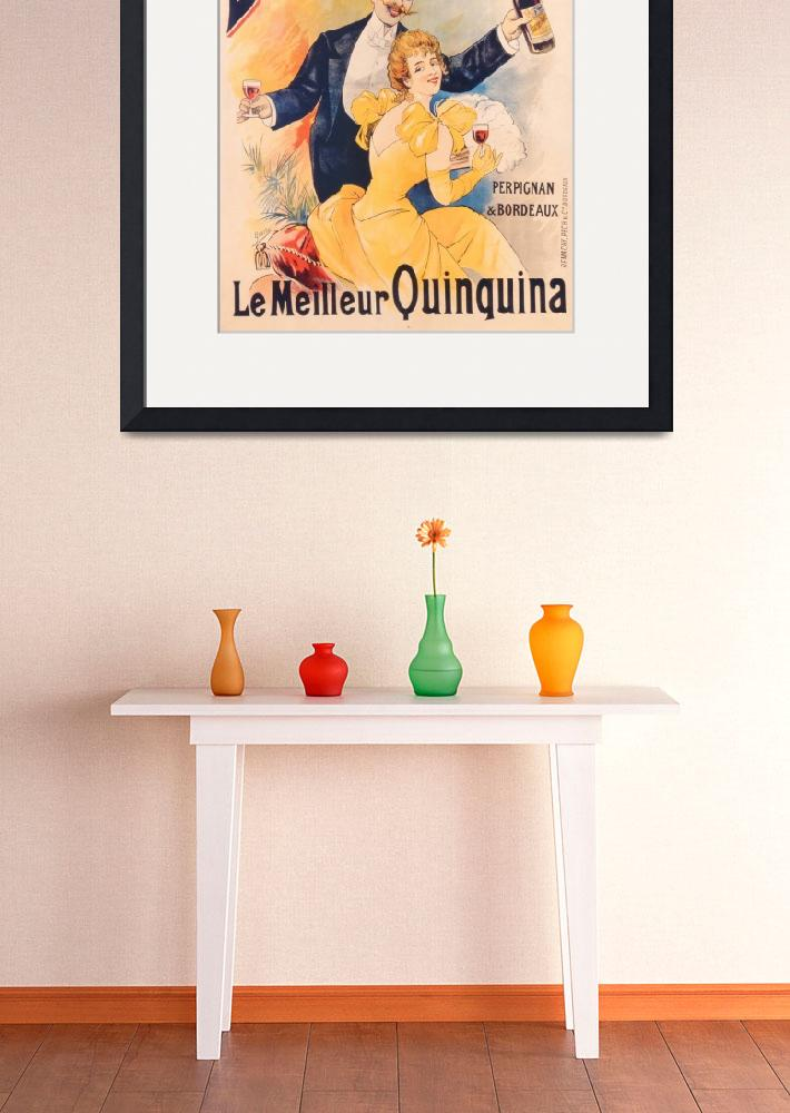 """Poster advertising Banyuls-Trilles Quinquina, c.18&quot  by fineartmasters"