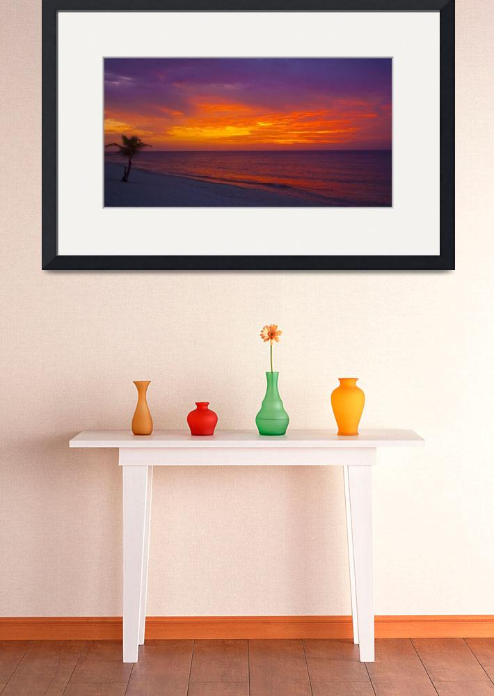 """""""Conch Pointe Beach Sunset&quot  (2010) by charleslloyd"""