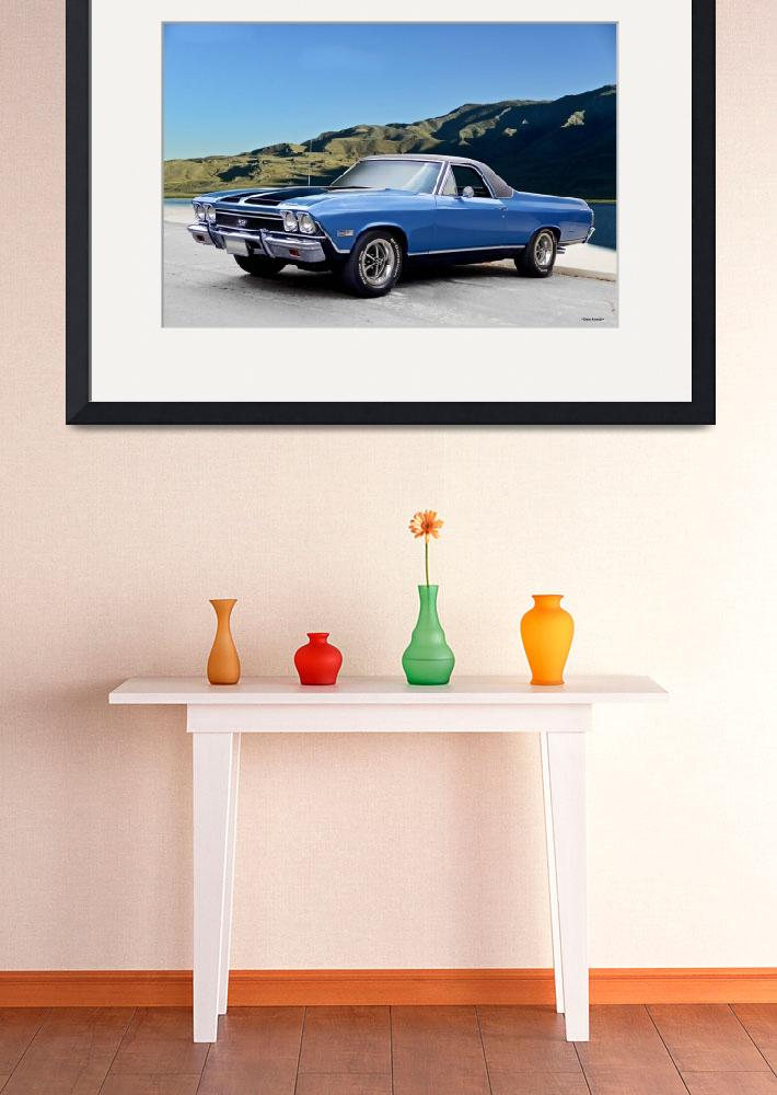"""""""1968 Chevrolet El Camino SS396 Ia&quot  (2017) by FatKatPhotography"""