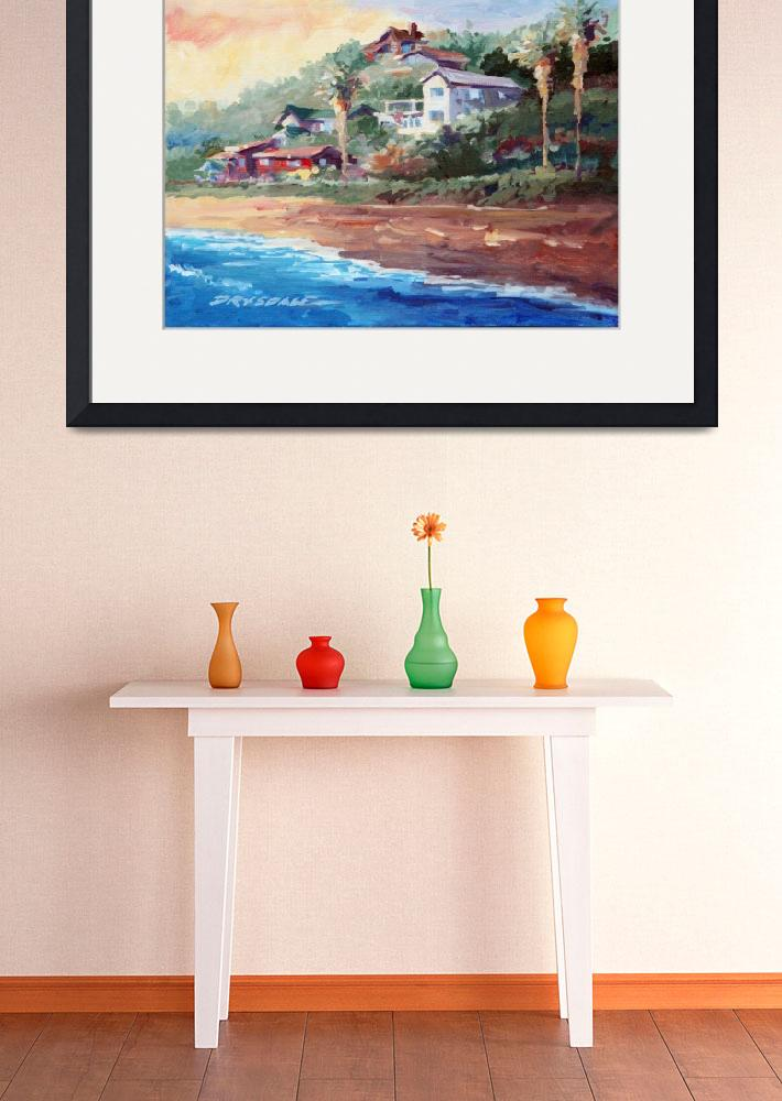 """""""Cottages at Crystal Cove&quot  by WillyDaleArt"""