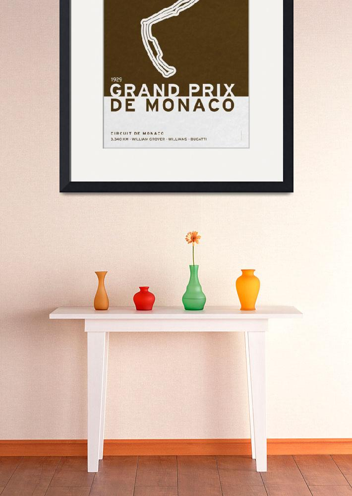 """Legendary Races - 1929 Grand Prix de Monaco&quot  by Chungkong"