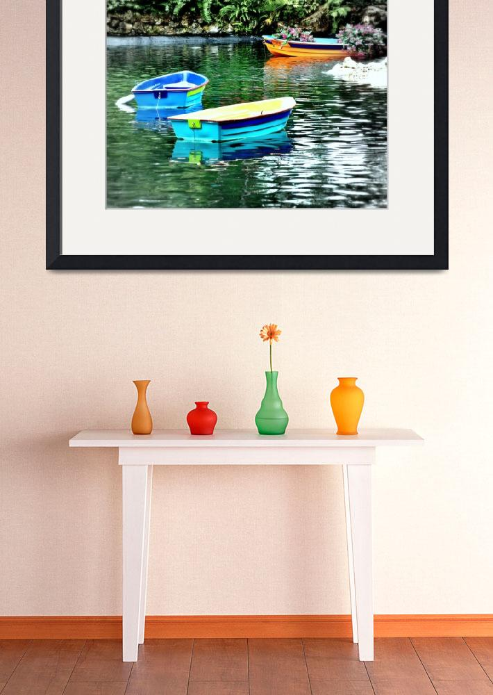 """""""Minature Boats&quot  (2010) by LauraD"""