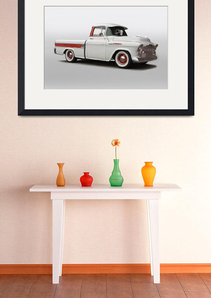 """""""1957 Chevrolet 3124 Cameo Pickup II&quot  by FatKatPhotography"""