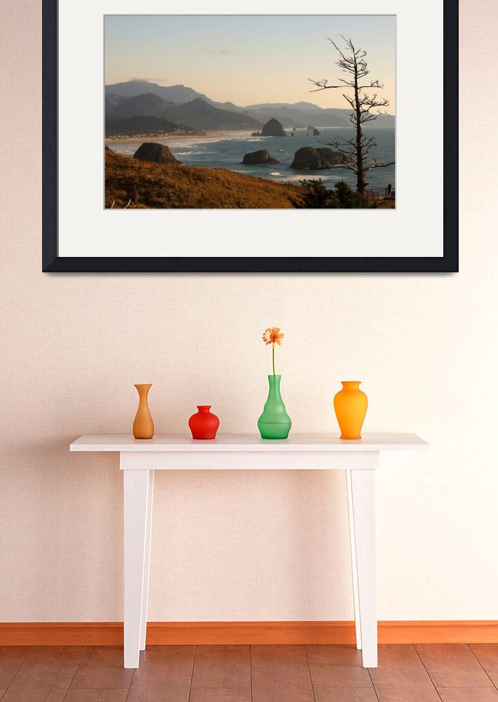 """""""Cannon Beach&quot  (2011) by frankacaba"""