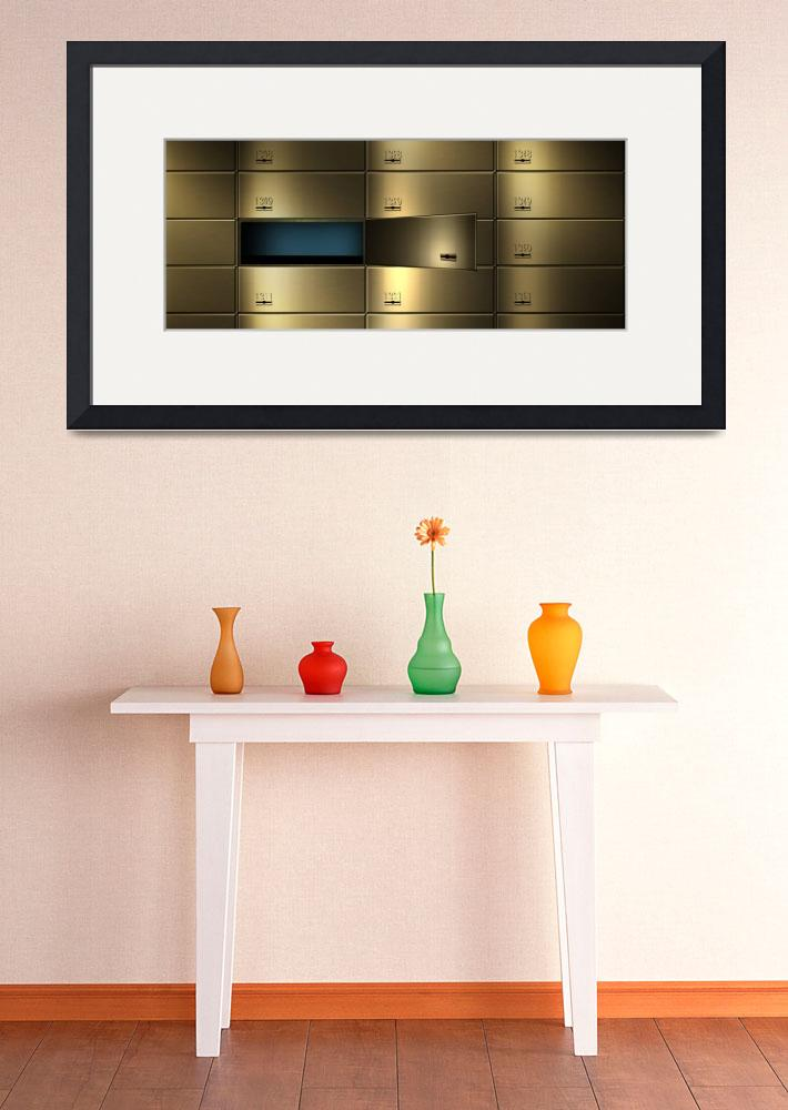 """""""Safety deposit boxes in a wall&quot  by Panoramic_Images"""