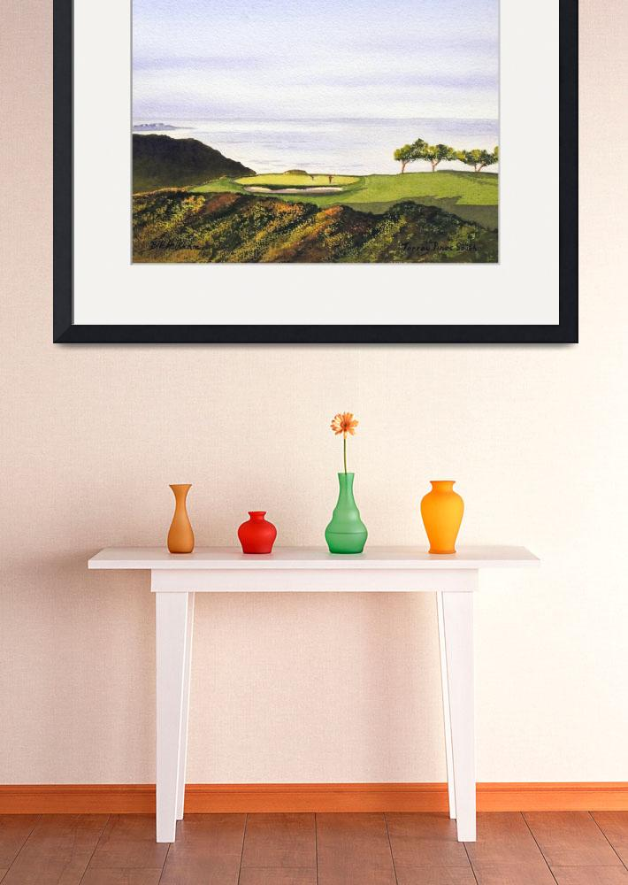 """""""Torrey Pines South Golf Course""""  (2012) by billholkham"""
