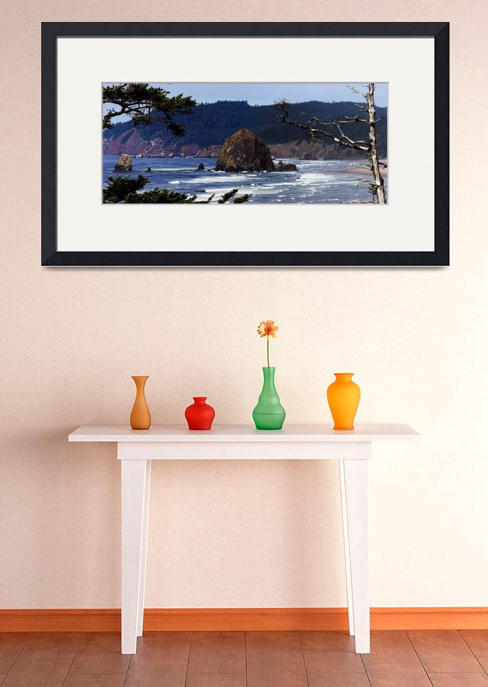 """""""Haystack Rock at Canon Beach""""  (2006) by NWExposures"""