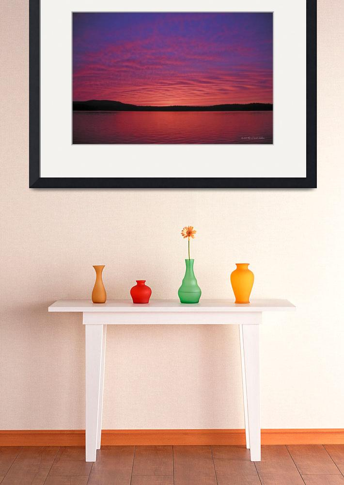 """""""Sunset Tupper Lake&quot  by HodlinGallery"""