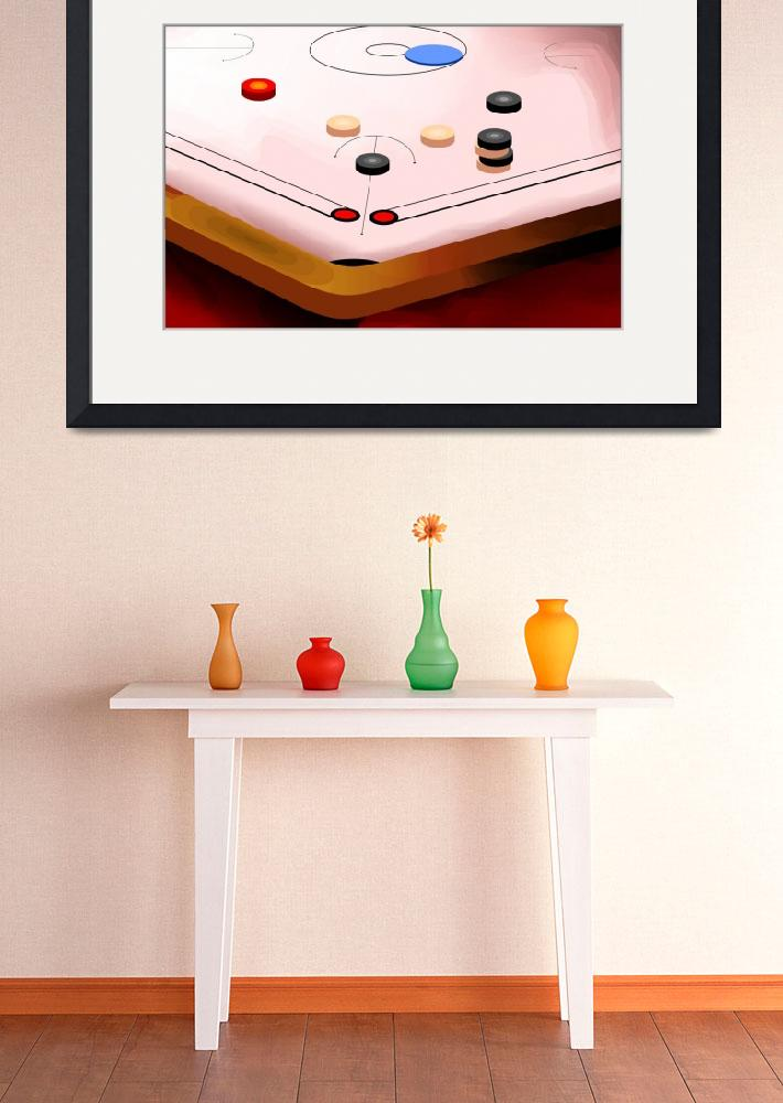 """Amusing carom game&quot  (2010) by digitalpainting"