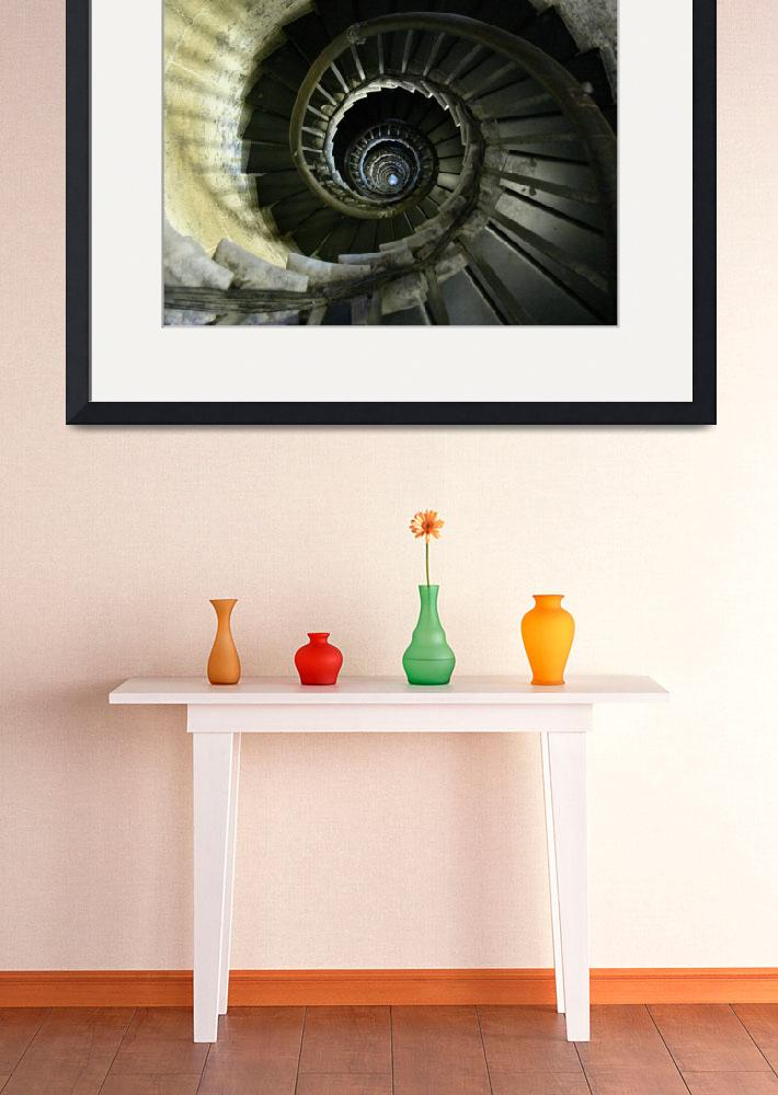 """Spiral Staircase&quot  by t"