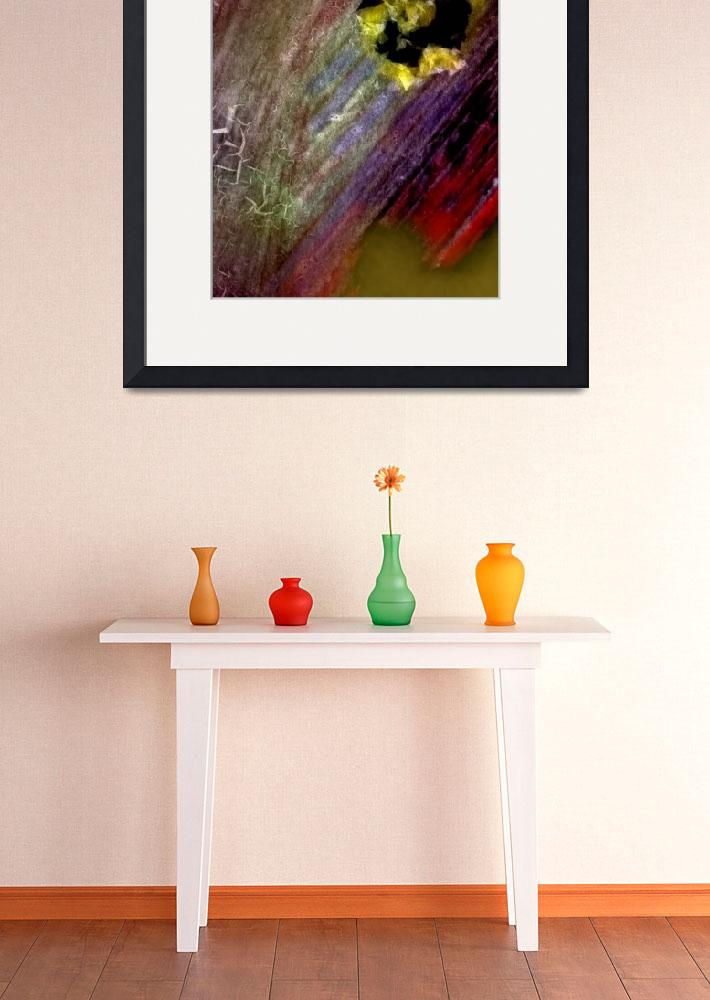 """""""pink yellow orange red green photo painting&quot  (2014) by jnanian"""