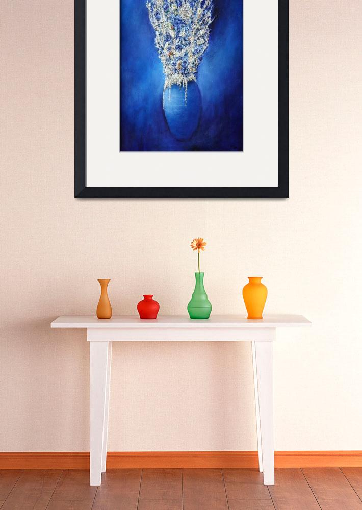 """""""Blue Vase&quot  (1999) by donmartin"""