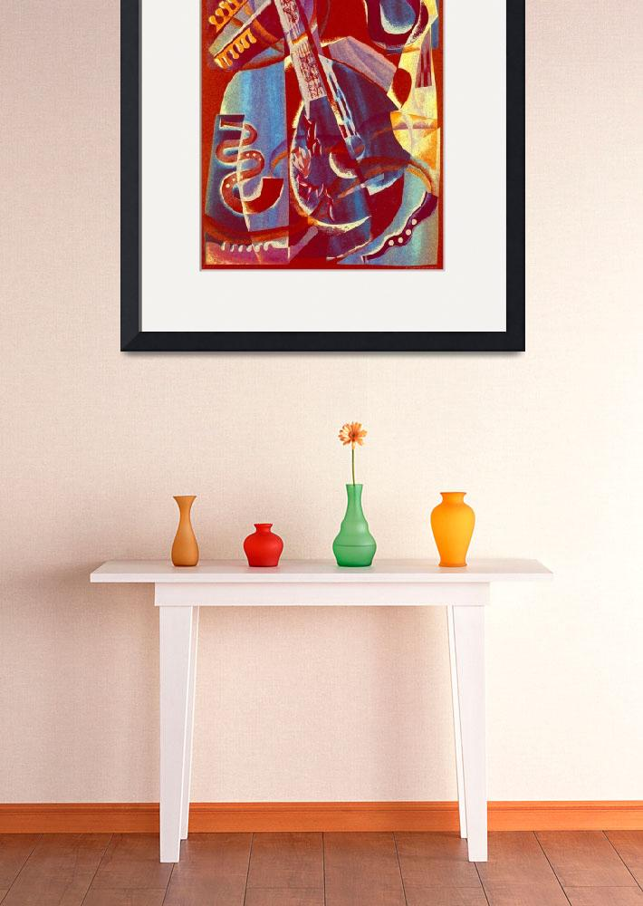 """""""Red Musical Still Life&quot  by Karrr"""