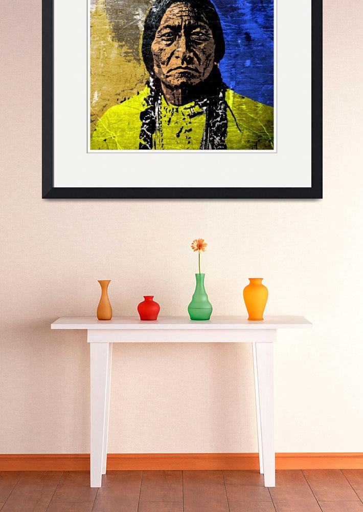 """""""Sitting Bull-9&quot  (2016) by thegriffinpassant"""