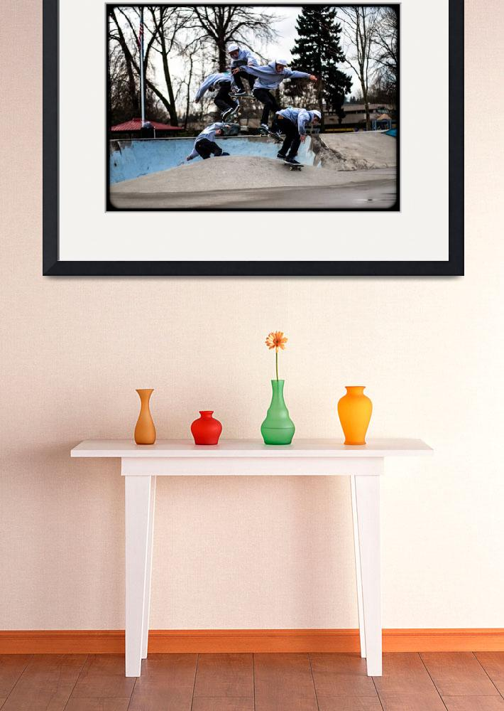 """""""Frames in a motion: Skateboarding""""  (2014) by EthanBussePhotography"""