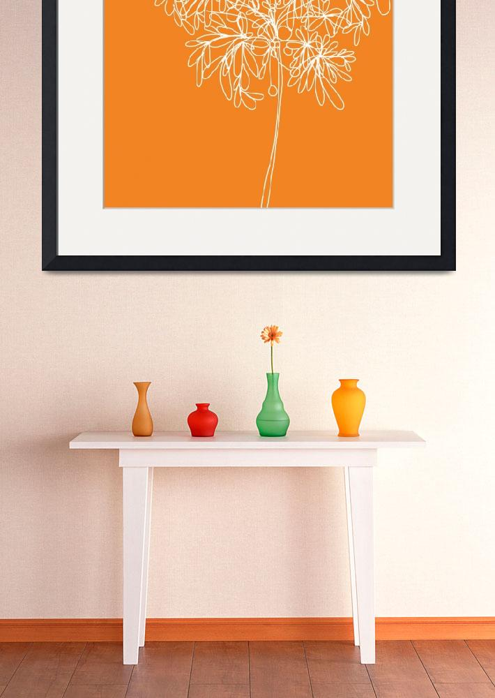 """""""Blossom Pop Orange&quot  (2013) by TuesdayMoon"""