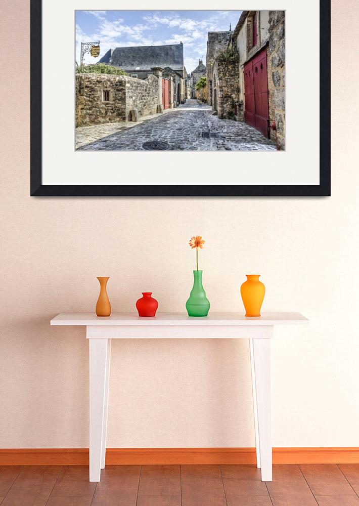 """""""Le Mans Medieval Streets (France)&quot  (2014) by mgarrido"""