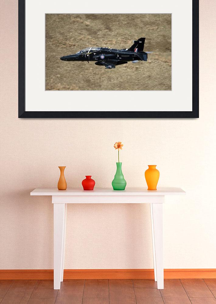 """""""A Hawk T2 jet trainer aircraft of the Royal Air Fo&quot  by stocktrekimages"""