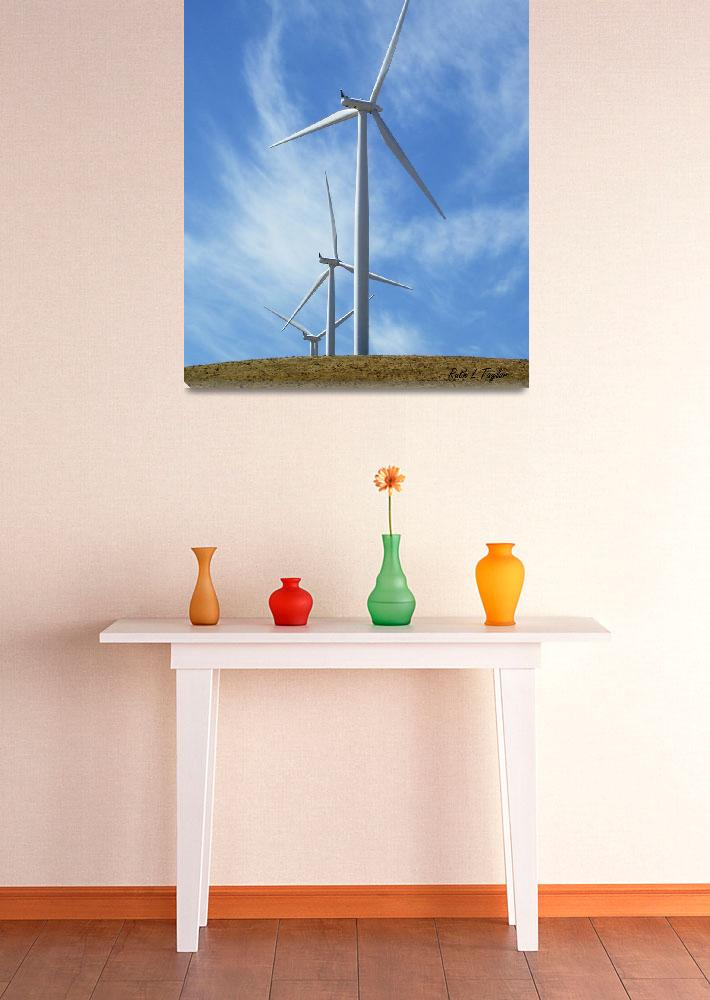 """Wind Turbines""  (2010) by aRTPhotograph"