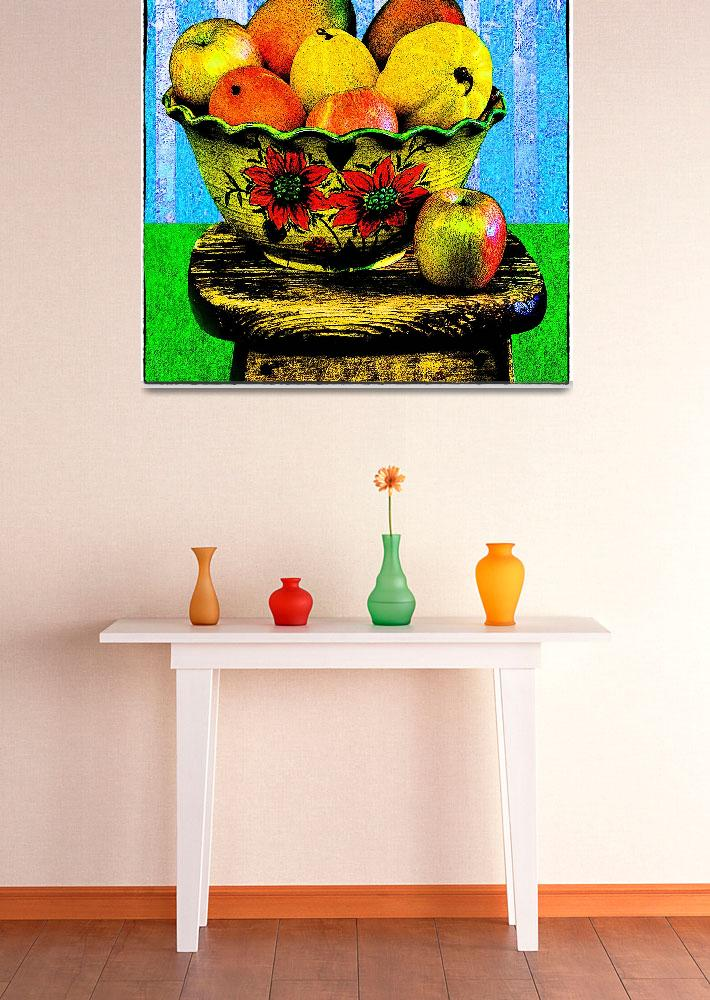 """""""Fruit-e Toot-e&quot  (2012) by electrictwig"""