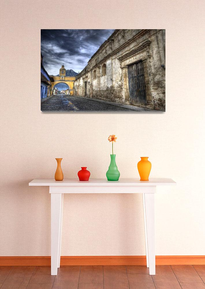 """""""Street and Archway&quot  (2008) by dawilson"""