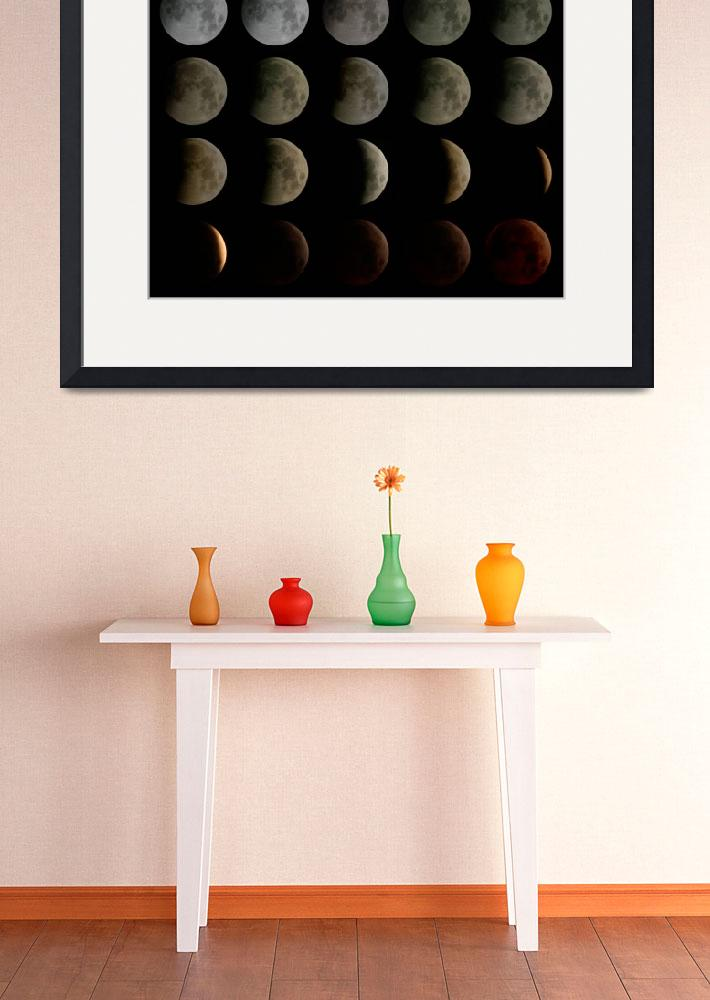 """""""Total Moon Eclipse 3-4 March 2007&quot  by xamad"""