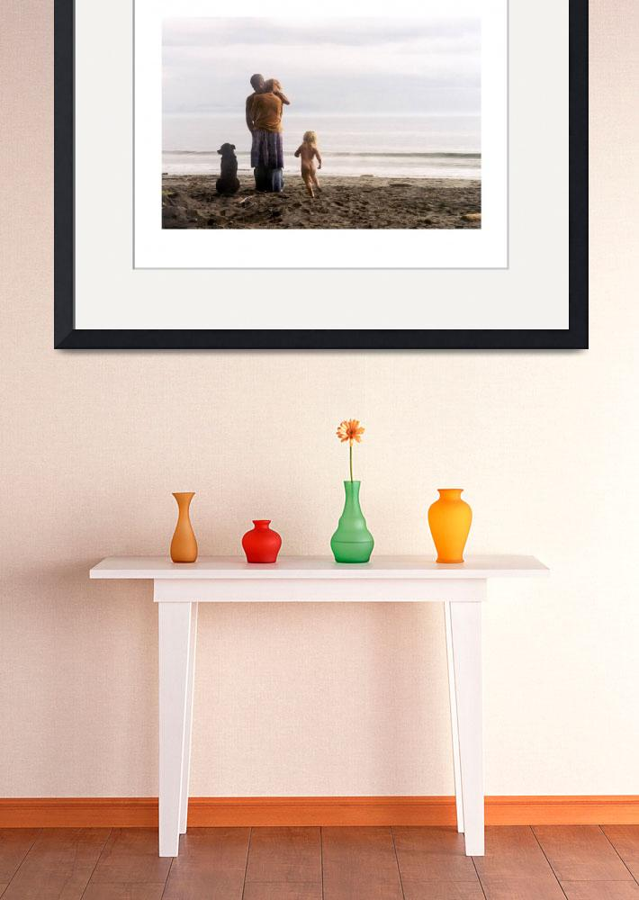 """Family photograph made on French Beach&quot  (2003) by unicornorg"