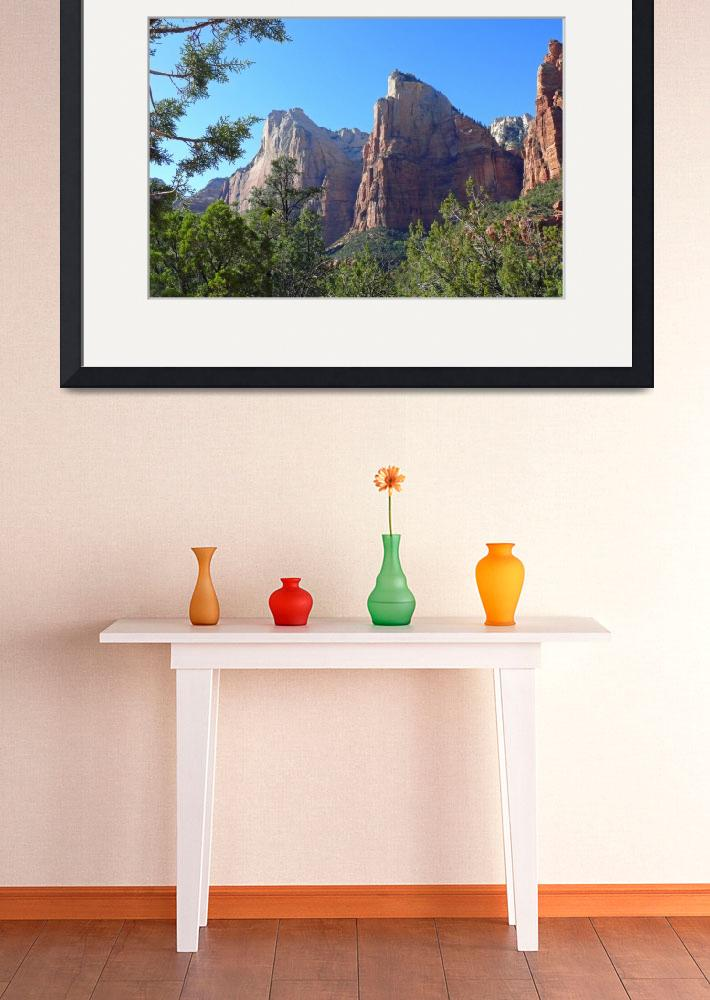 """Zion National Park, Utah&quot  (2007) by stockphotos"